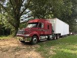 Freightliner/w LQ trailer for sprint cars  for sale $35,000