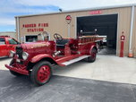 1933 American LaFrance Fire Engine  for sale $15,000