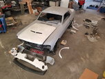 1967 Mustang GT500 kit With Fast back trunk lid