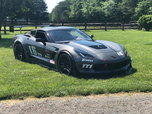 2015 Corvette C7 Z06 with 24 Foot ATC Aluminum trailer  for sale $88,990
