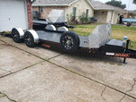MaxxD drop n load 20' airbagged trailer