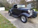 1930 Ford Model A Roadster, *Has Fiberglass Body.*