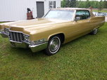 1969 Cadillac DeVille  for sale $12,500