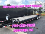 USED 2018 PJ TRAILERS 34' HEAVY EQUIPMENT TRAILER  for sale $7,900