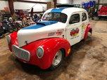 1940 WILLYS STEEL 2 DOOR SEDAN BEEN RACE CAR FOR 30 YEARS  for sale $42,000