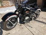 1941 Harley Davidson EL Knucklehead  for sale $13,000