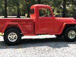 1959 Willys Truck 4x4, Frame off Resto Trade Trade