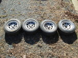 Corvette Aluminum Wheels Set Of 4  for sale $250
