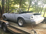 1989 Mustang Convertible Foxbody Project Street or Race Car  for sale $3,400