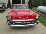 1957 Chevy Red Hard Top