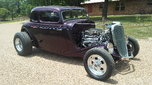 1934 ford  coupe steel car