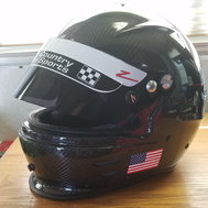 Zamp RZ-44C Carbon Helmet, Gloves, Boots, Race Collar
