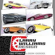 LARRY WILLIAM DESIGN  for sale $250
