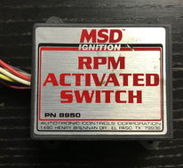 MSD RPM Activated Switch  for sale $50