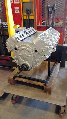 Big Block Chevy display/mock up engine