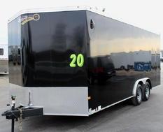 2021 20' Transport Car Hauler w/5,200# Heavy Duty Axles