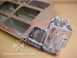 BBC BDS Competition Std. Deck Blower Manifold Polished