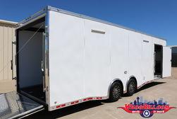 28' Cargo Mate/ Continental Nitro Race Trailer Wacobill.com