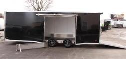 Ready in Dec. 24' 2022 ALL ALUMINUM Race Car Trailer