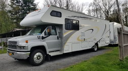 2005 Chevy 5500 Toy Hauler  for sale $48,500