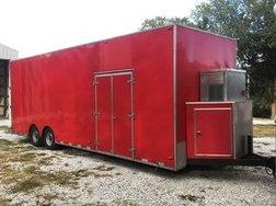 27ft air ride trailer