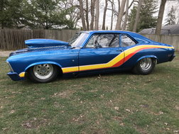 1970 Nova Chassis Car Cert to 8.50