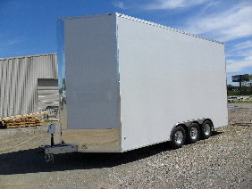 NEW 24' WHITE STACKER PICKUP NOW/ LIFT/ DECK  for Sale $21,900