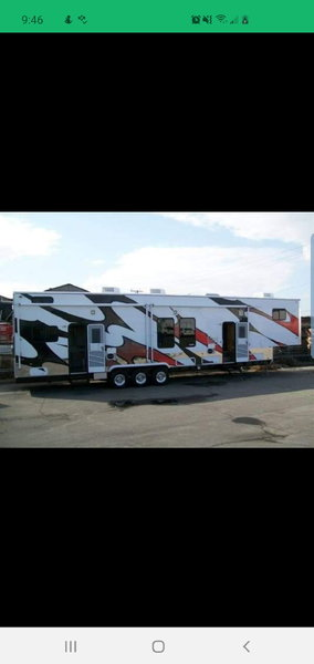 2016 Carson Carrera 44ft Toy Hauler Trailer  for Sale $29,000