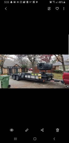 2016 24' custom Maxx XD trailer  for Sale $5,499