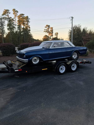 63 tube chassis Chevy II