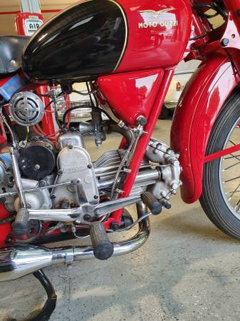 1954 Moto Guzzi 250 Airone Sport  for Sale $11,500