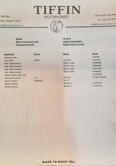 2018 Tiffin Phaeton 40' 4 Slides Bath & Half 450HP Cummi