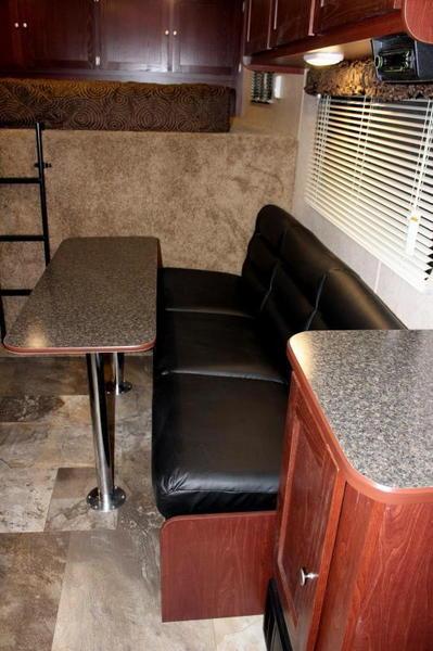 Ready NOW w/12' Sofa Living Quarters