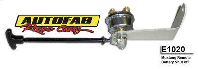 Autofab Fox Body Mustang Battery Kill Switch