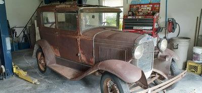 1930 model A 2door sedan