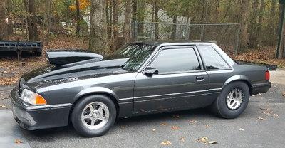 1991 Mustang 7.50 cert N/T x275 ultra street