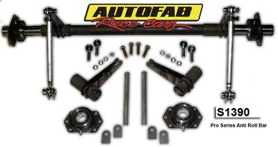 Autofab Pro Series Anti Roll Bar Kit - 4130 CM
