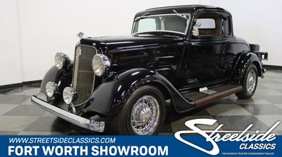 1934 Plymouth 5-Window Coupe Rumble Seat