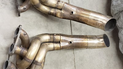 Side exit Stainless Steel Chassis car headers