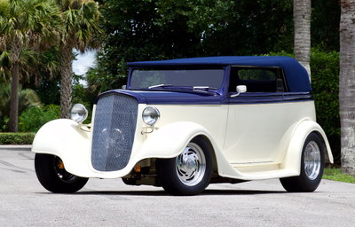 1935 Chevrolet Cabriolet Street-Rod 502 BBC