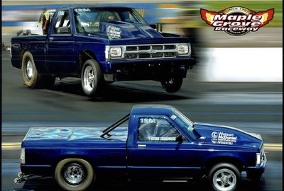 T/K 88 Chevy S10 Drag Truck