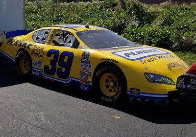 PENSKE RACE WINNING ROAD RACE CAR