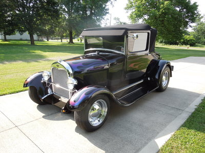 1928 Ford Model A Sport Cp.