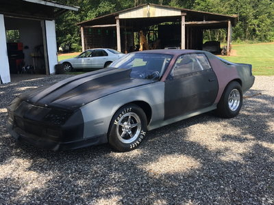 1987 Camaro (roller)