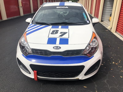 2012 Factory KIA Rio5 Race Car