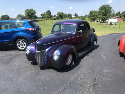 1940 all steel coupe
