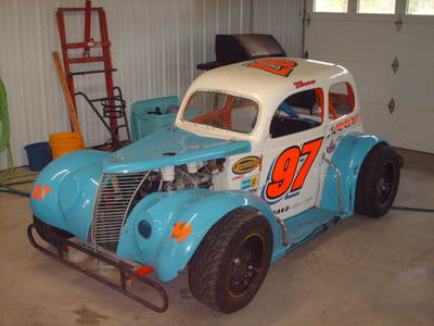 37 ford sedan race ready