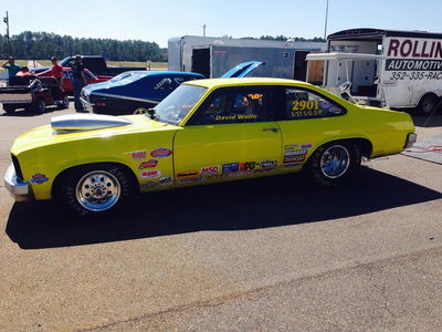 1978 Chevy Nova drag car