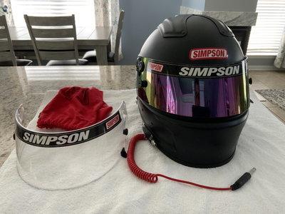 Simpson Race Helmet