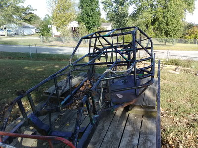 Mastersbilt dirt late model chassis in perfect condition&